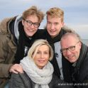 <p>Familie im Winter am Strand, Strande</p>