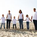 <p>Familienfotos am Strand, Falkenstein</p>